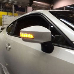Valenti Jewel LED Door Mirrors