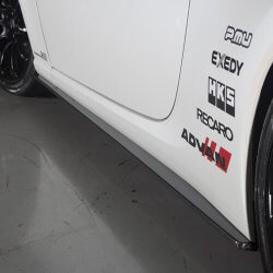 Kansai Service Carbon Side Skirts