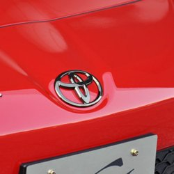 Grazio Black Chrome Toyota Emblems